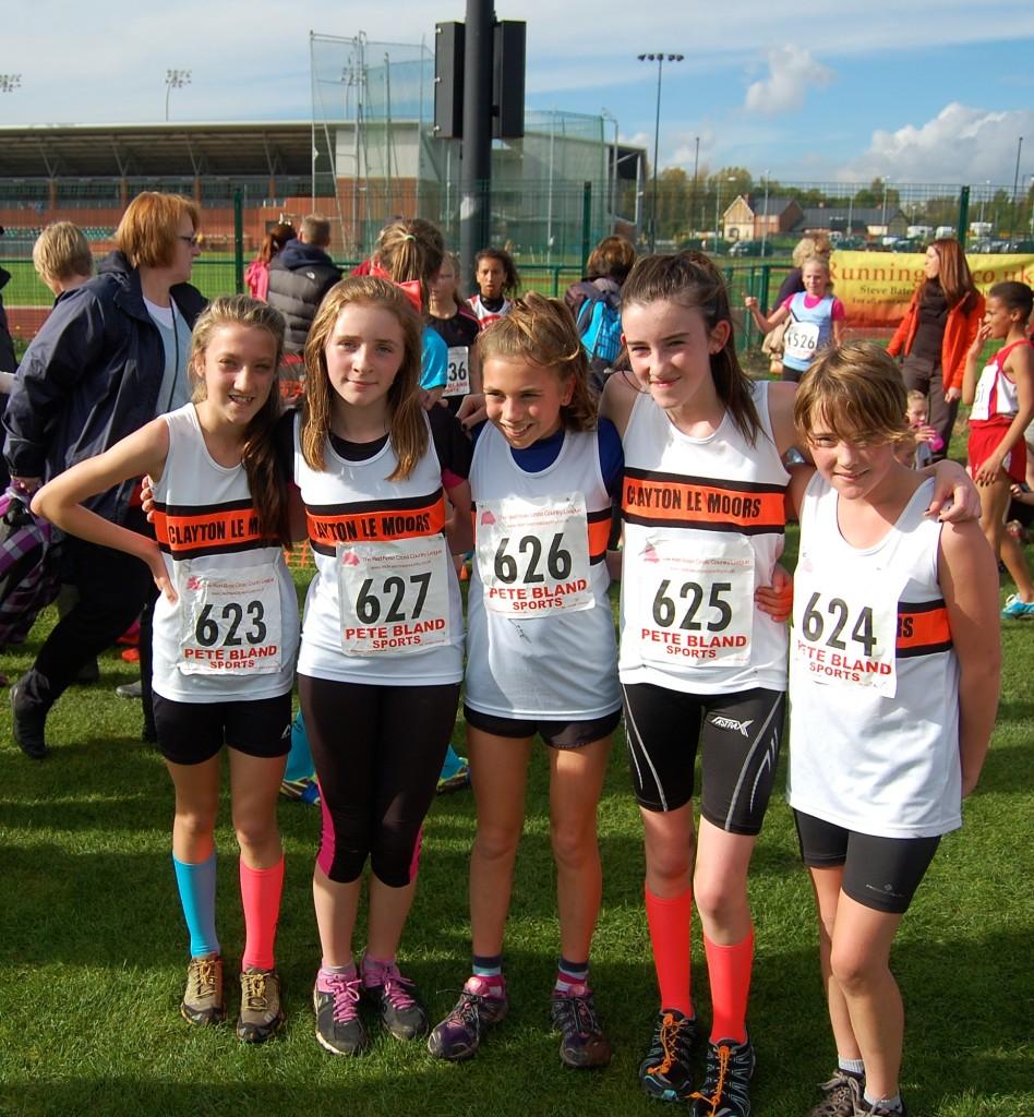 Clayton Harriers U13 Girls