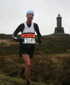 Mark Nutter at the David Staff Memorial Fell Race. Photo by Helen Jones