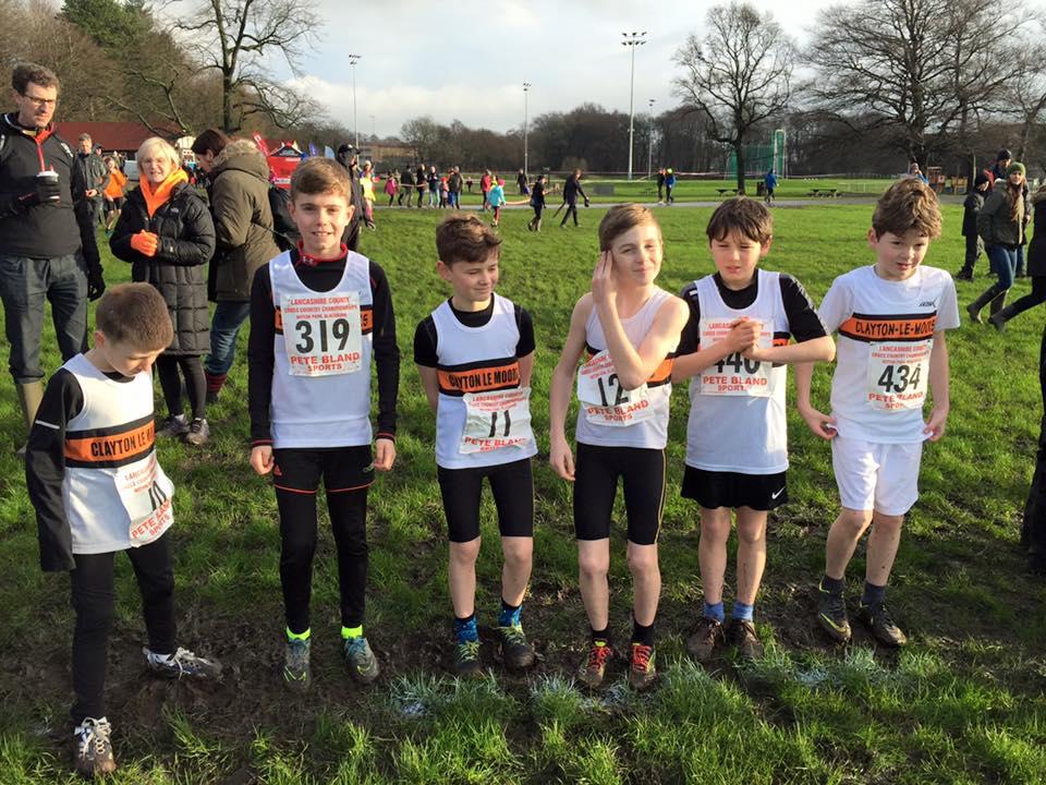 U11 Boys at the start line. Photo by Nicola Thompson