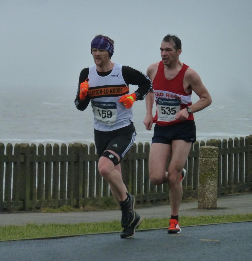 Jon Cleaver at the Great North West Half Marathon