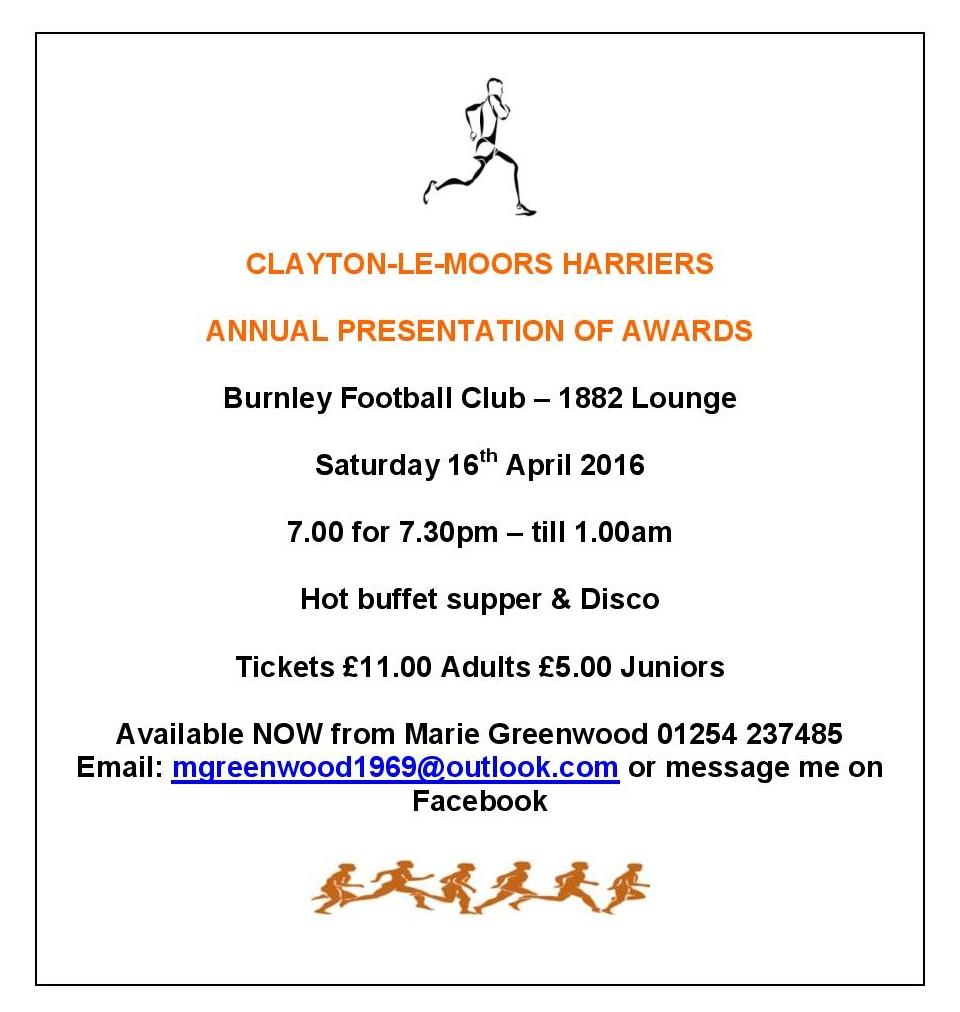 CLAYTON AWARDS 2016