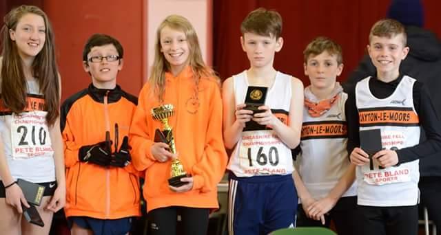 Our Junior Lancashire Fell Champions
