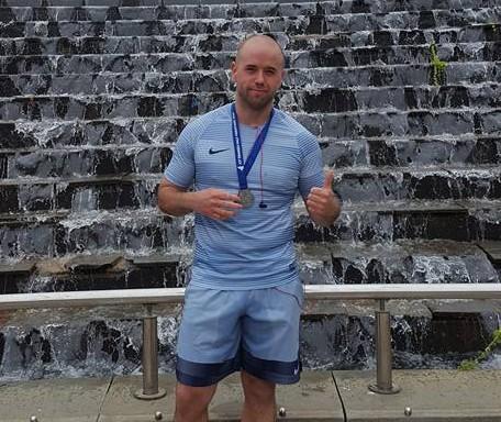 Carl Dale at the Swansea Half Marathon