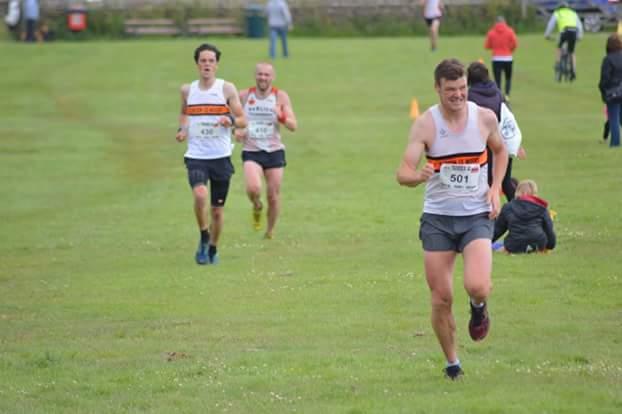 Dave Walker, first Clayton finisher, followed by Andrew Laycock. Photo by Nick Olszewski
