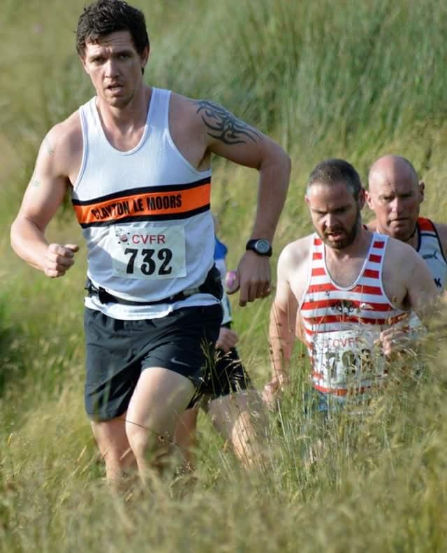 Ryan Belshaw at the Widdop Fell Race. Photo by Nicholas Olszewski