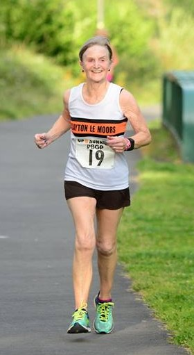 Marion Wilkinson at the Greenway 5k. Photo: David Bleshaw
