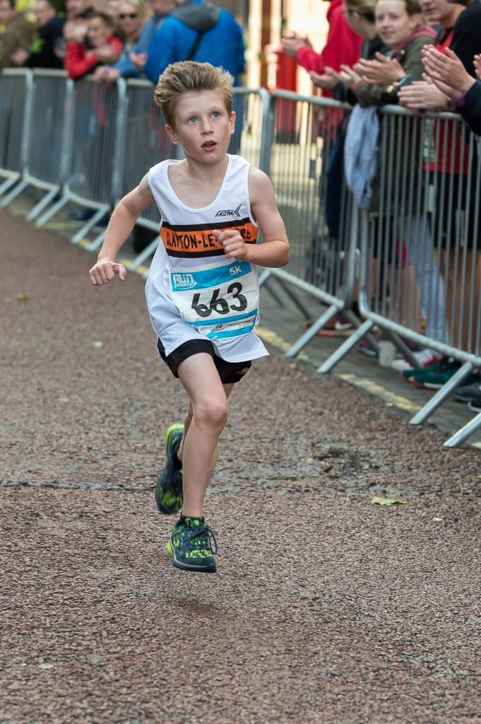 Matthew Jackson at the Run Preston 5K. Photo by Tim Waterworth Photography