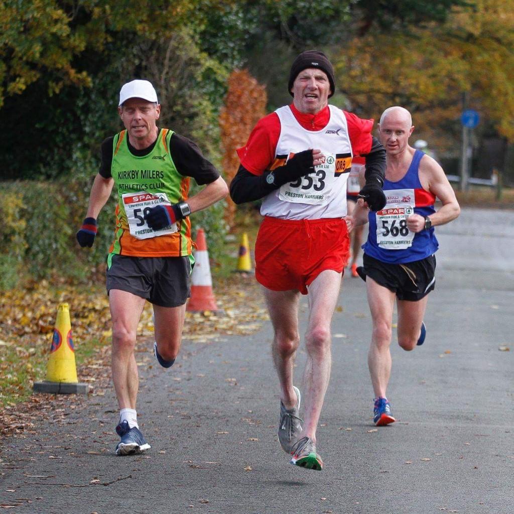 John Hartley at the Preston 10 Mile Road Race. Photo by David Wood