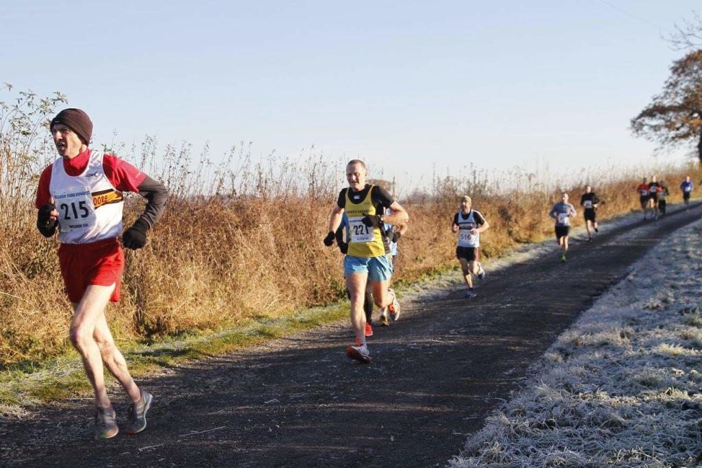 John Hartley at the Wesham 10K. Photo by David Wood