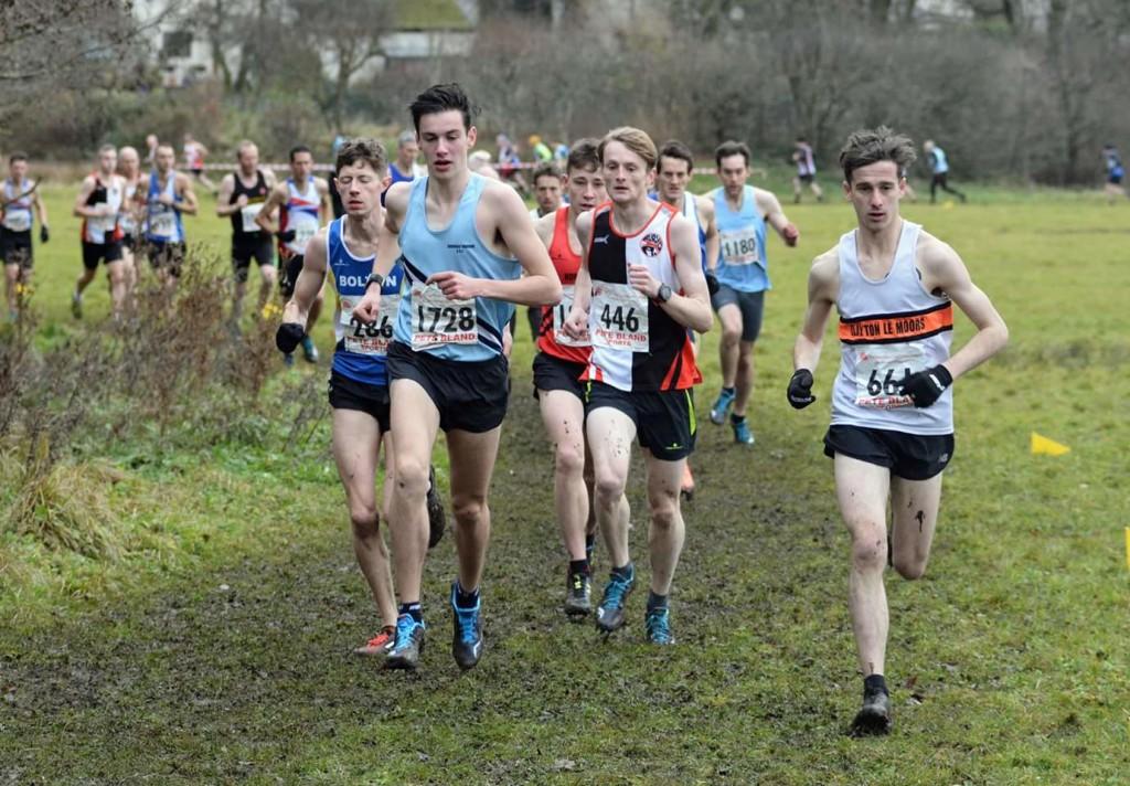 Danny Collinge in the men's race. Photo by Bryn Barnes