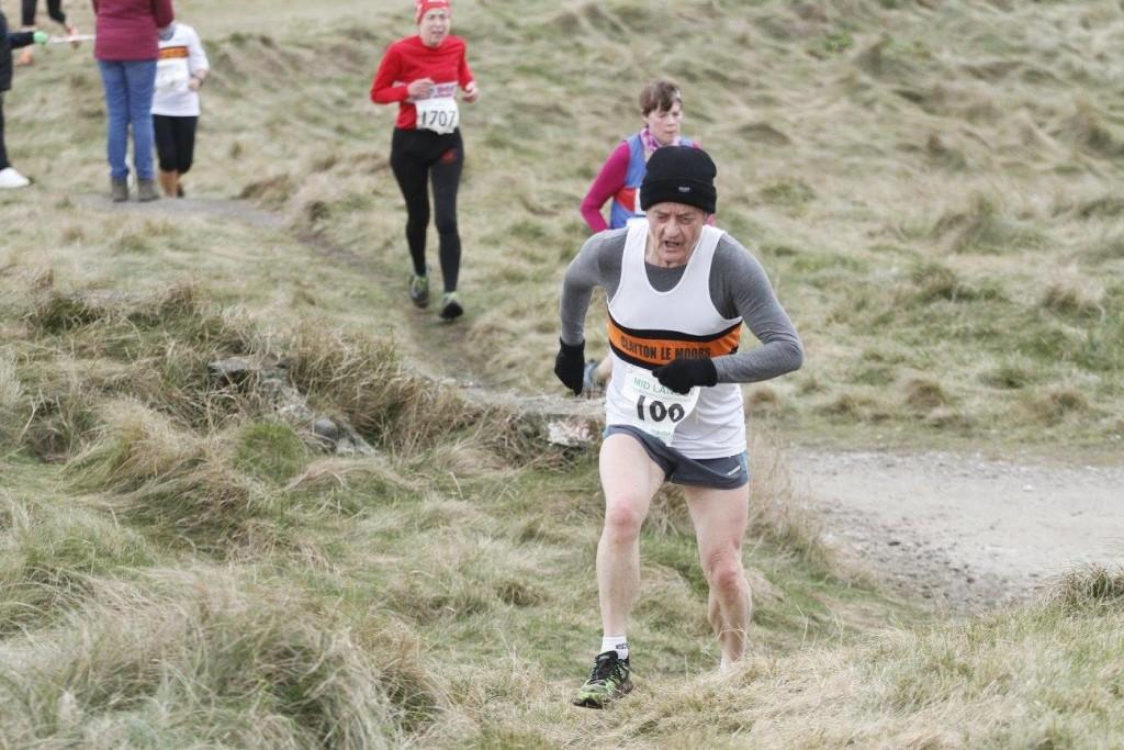 V70 runner, Richard Lawson. Photo by David Wood