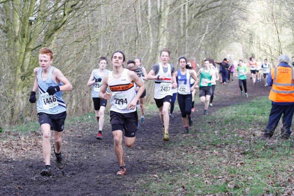 Stanley Grewal in the U15 Boys' race. Photo by David Wood