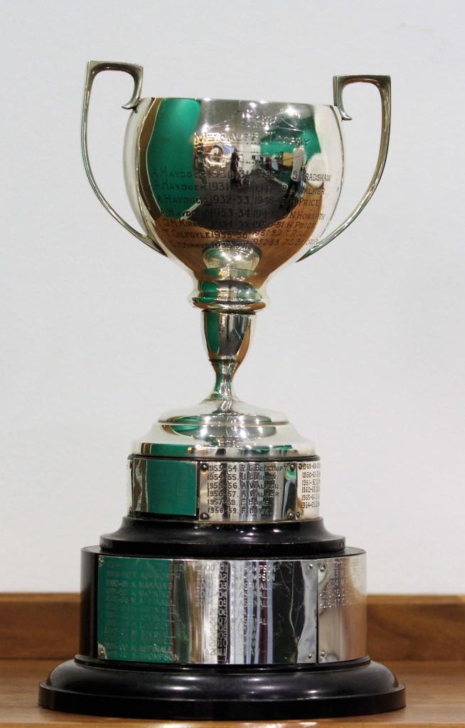 The Metcalfe Trophy. Photo David Belshaw