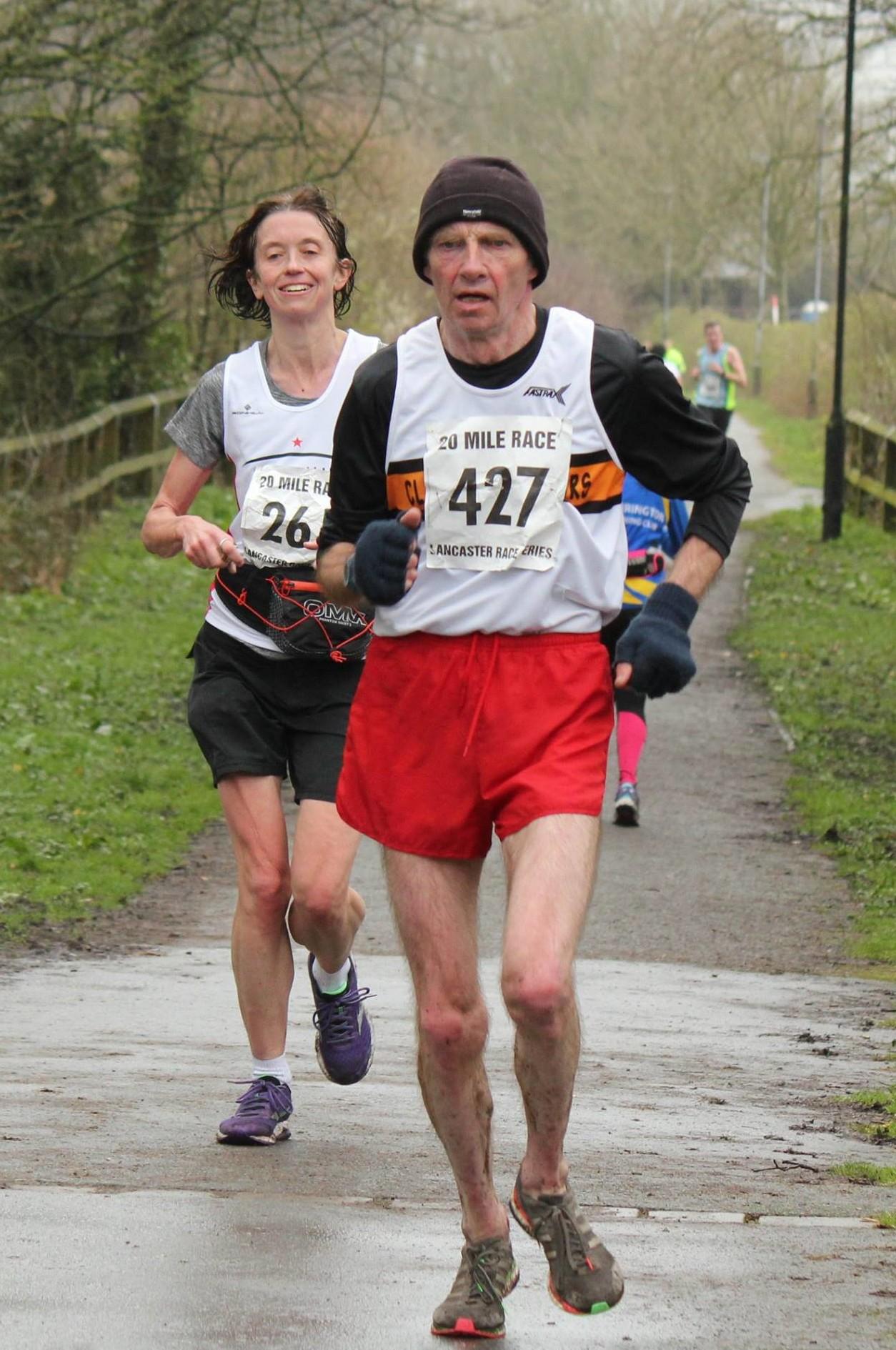 John Hartley at the Trimpell 20