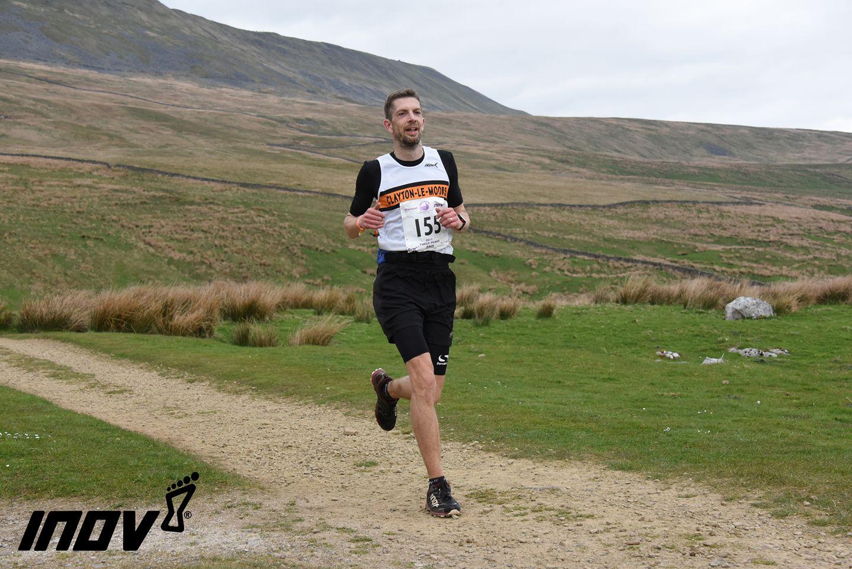 Richard Stevenson down of Whernside. Photo: Sport Sunday