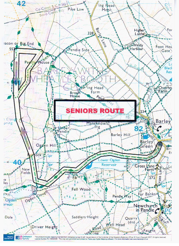 Pendle Senior Route