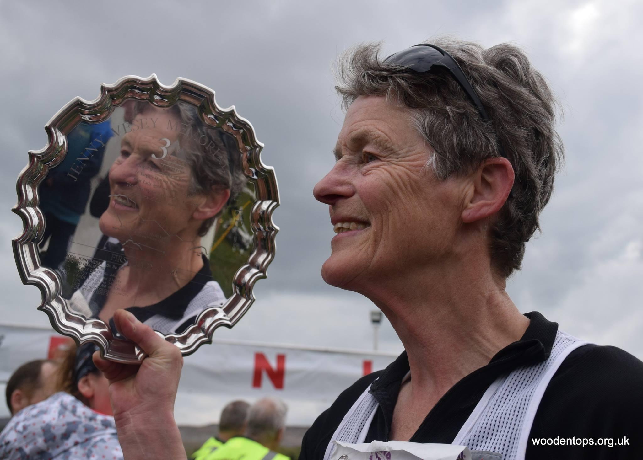 WV60 winner Wendy Dodds. Photo: Woodentops