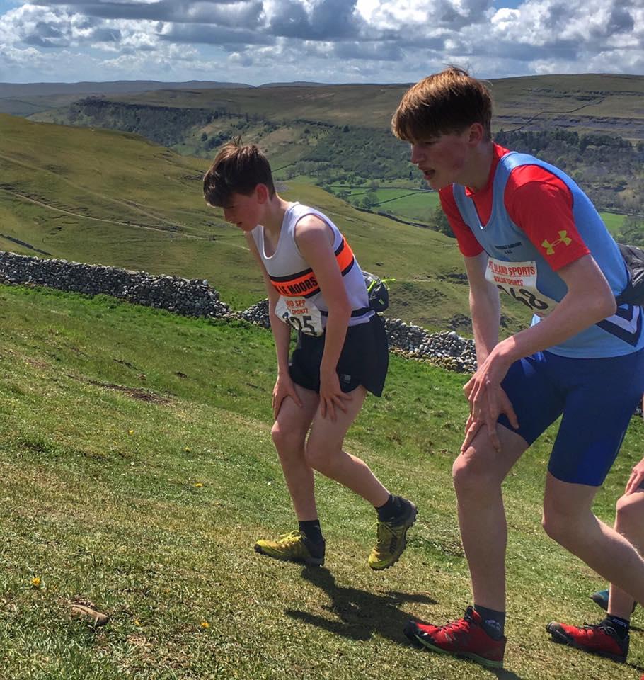 Jackson Mckay in the U15 Race. Photo by Alan Dorrington