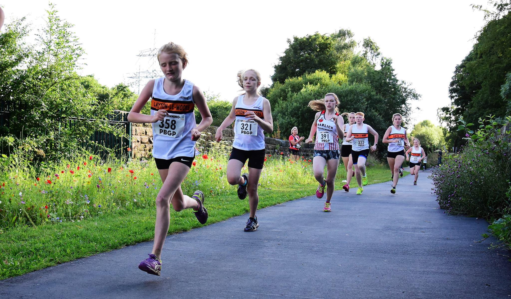 Beth Wheatcroft and Kaliska in the U15G race. Photo: David Belshaw
