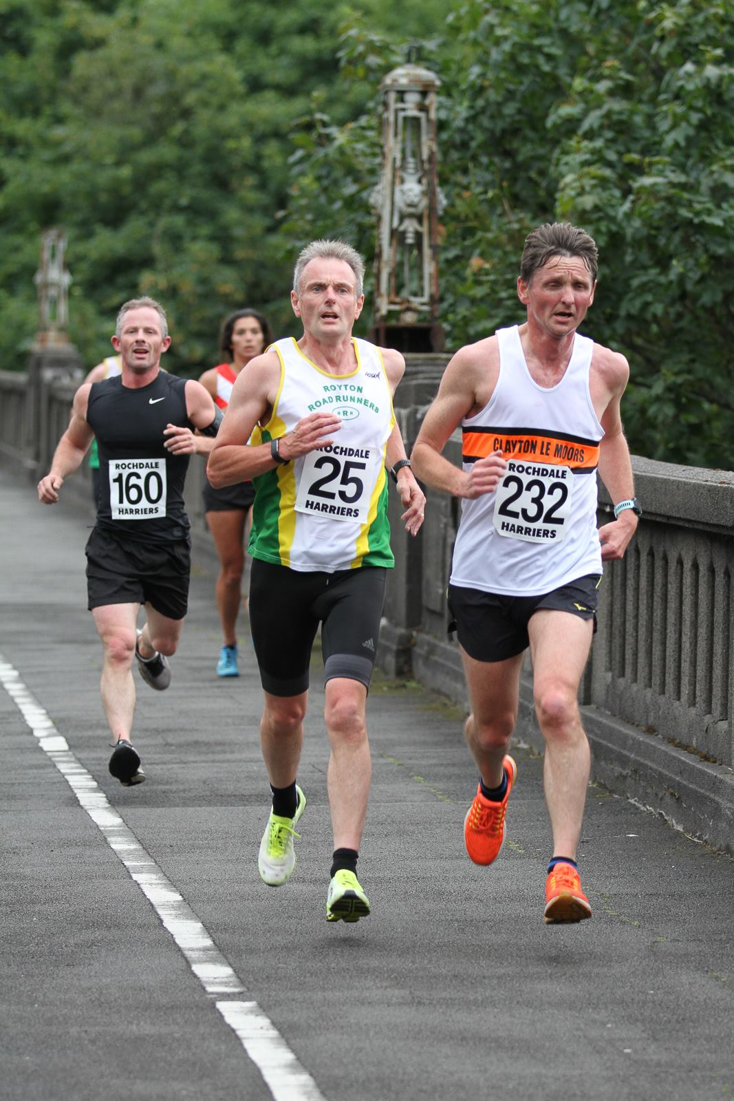 Michael Hogan at the Rochdale 10K