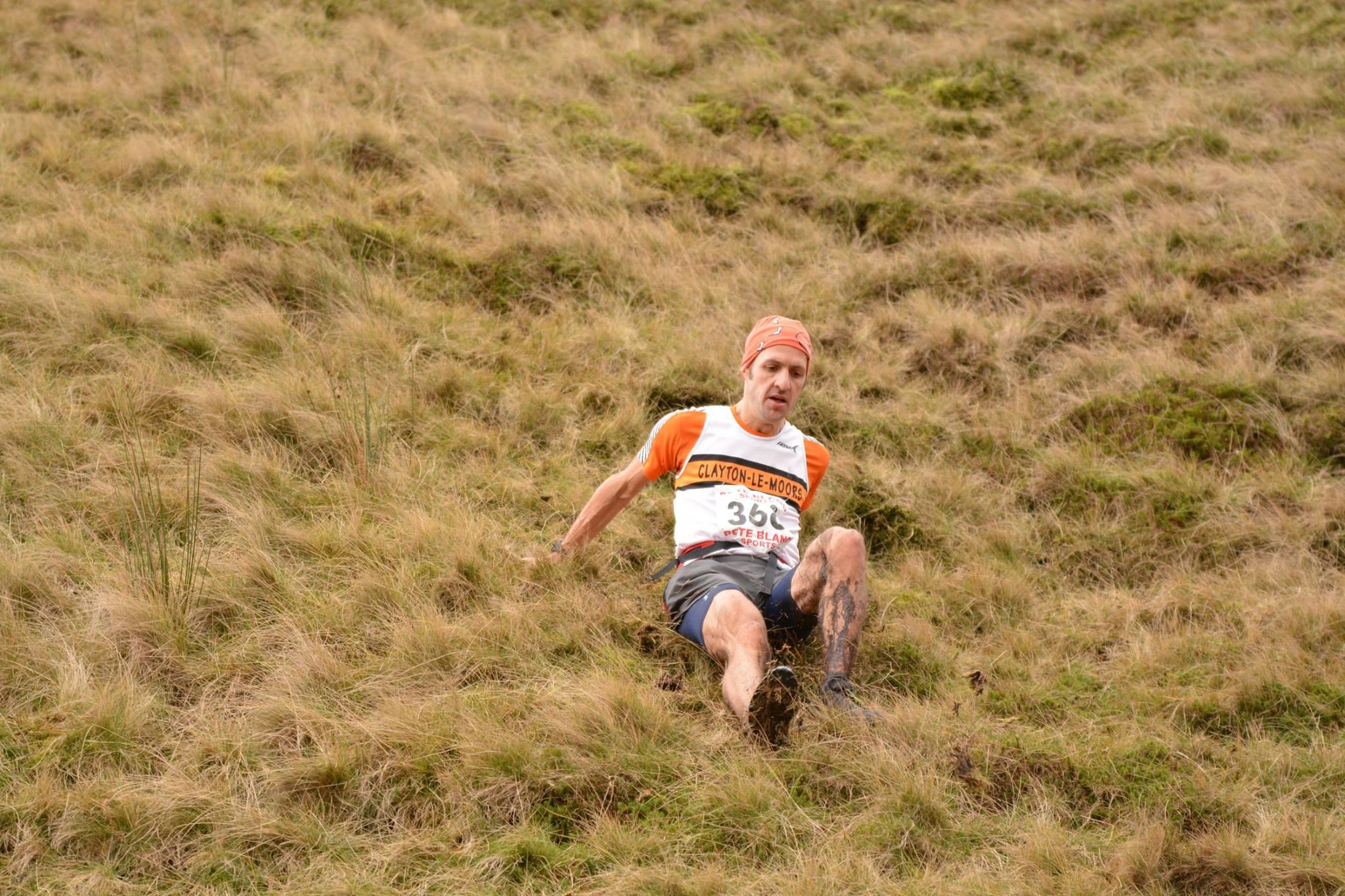 Suboptimal for shorts longevity, Mr Motley... Photo: David Belshaw