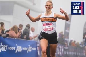 Lisa Ellis. Photo by Asics Race on Track